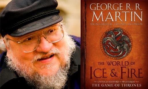 Copertina del nuovo libro di George R. R. Martin