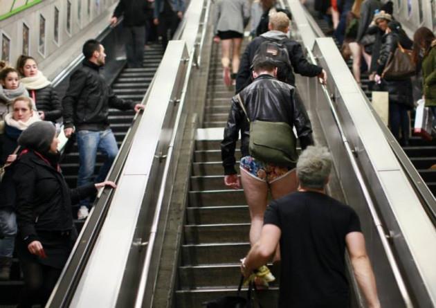 Giornata Mondiale Senza Pantaloni: i partecipanti in arrivo