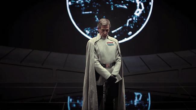 Ben Mendelsohn nel film Rogue One: A Star Wars Story