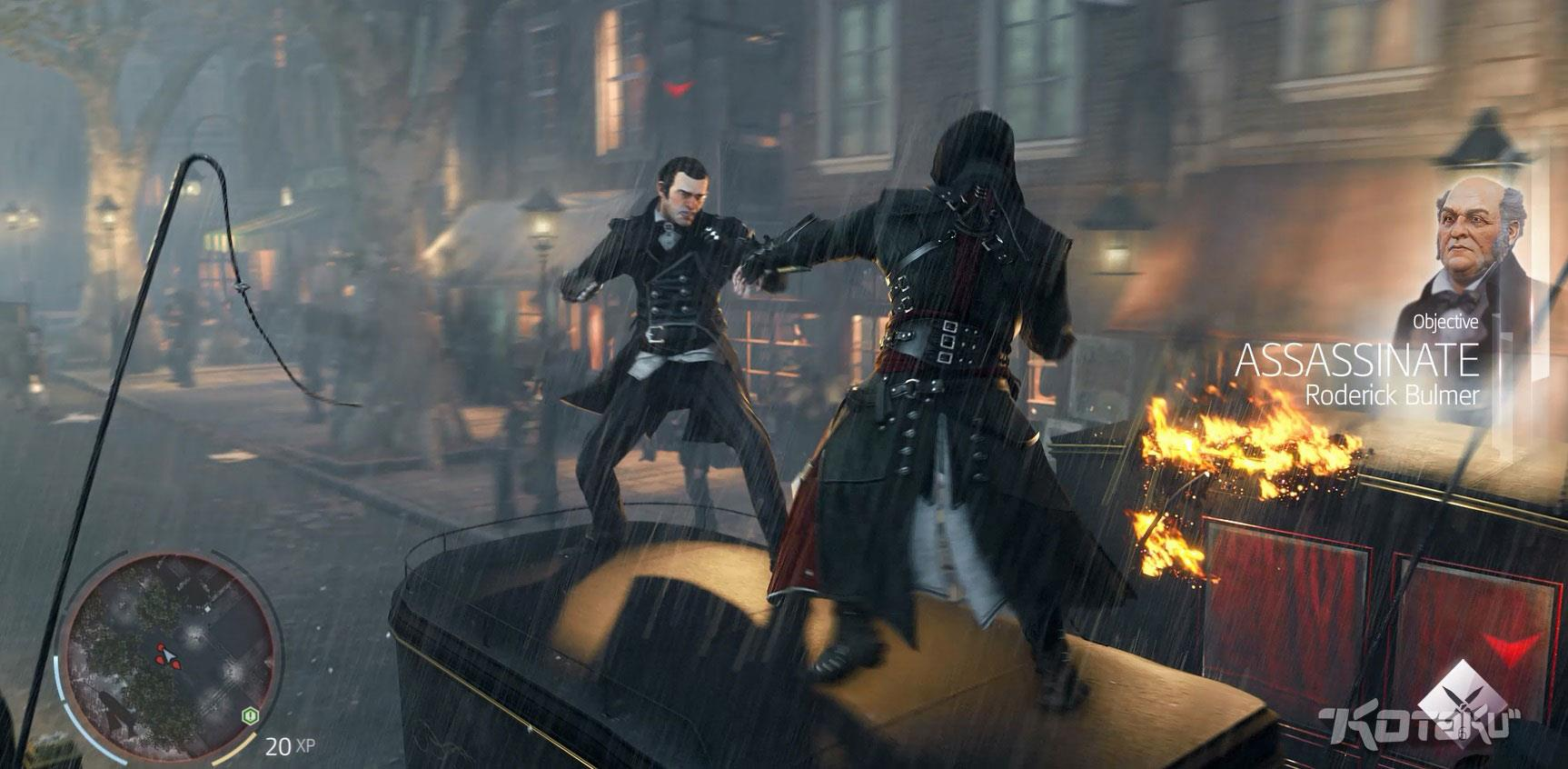 Assassin's Creed Victory, missione di assassinio