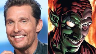 Matthew McConaughey e il Green Goblin