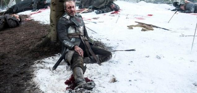 Stannis Baratheon muore in Game of Thrones