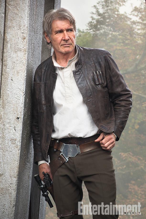 Harrison Ford in una foto ufficiale di Star Wars 7