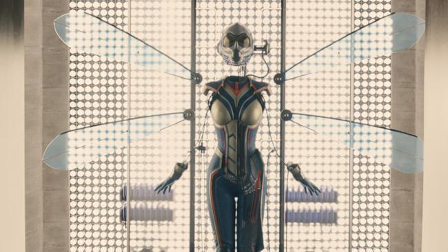 Il primo costume di Wasp nell'universo cinematografico Marvel