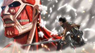 Eren Jaeger in una scena dell'anime L'Attacco dei Giganti