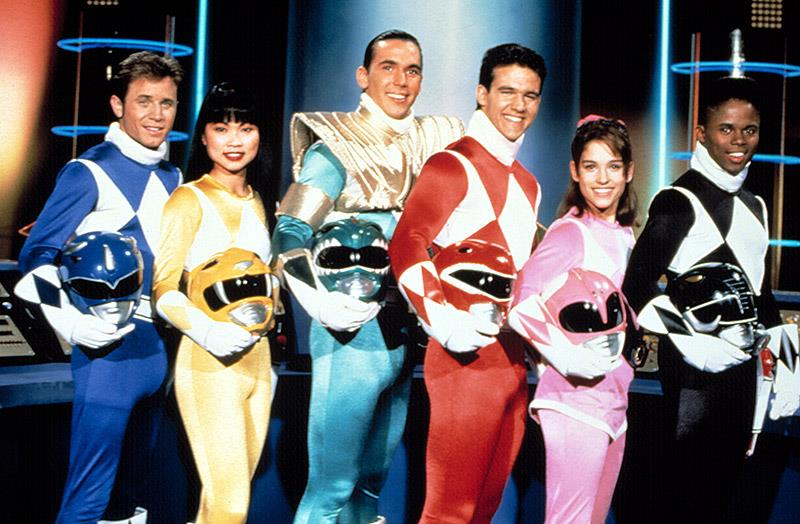 Il cast originale di Power Rangers (1993)