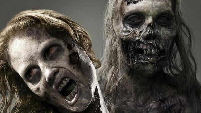Gli zombie di The Walking Dead