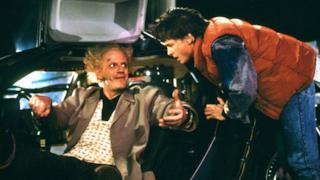 L'auto DeLorean di Ritorno Al Futuro
