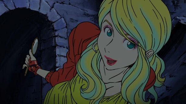 Rebecca Rossellini nel trailer della nuova serie di Lupin III