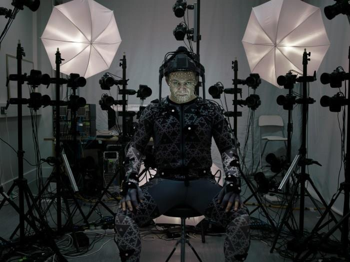 Andy Serkis interpreta Snoke in performance capture