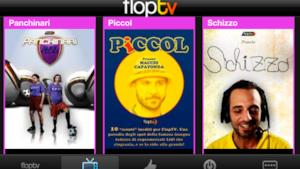 iPhone, iPad e Windows Phone 7: le nuove app FlopTV per ridere sempre!