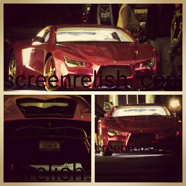 Primo sguardo all'auto di Joker in Suicide Squad