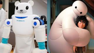 ROBEAR e Big Hero 6 a confronto