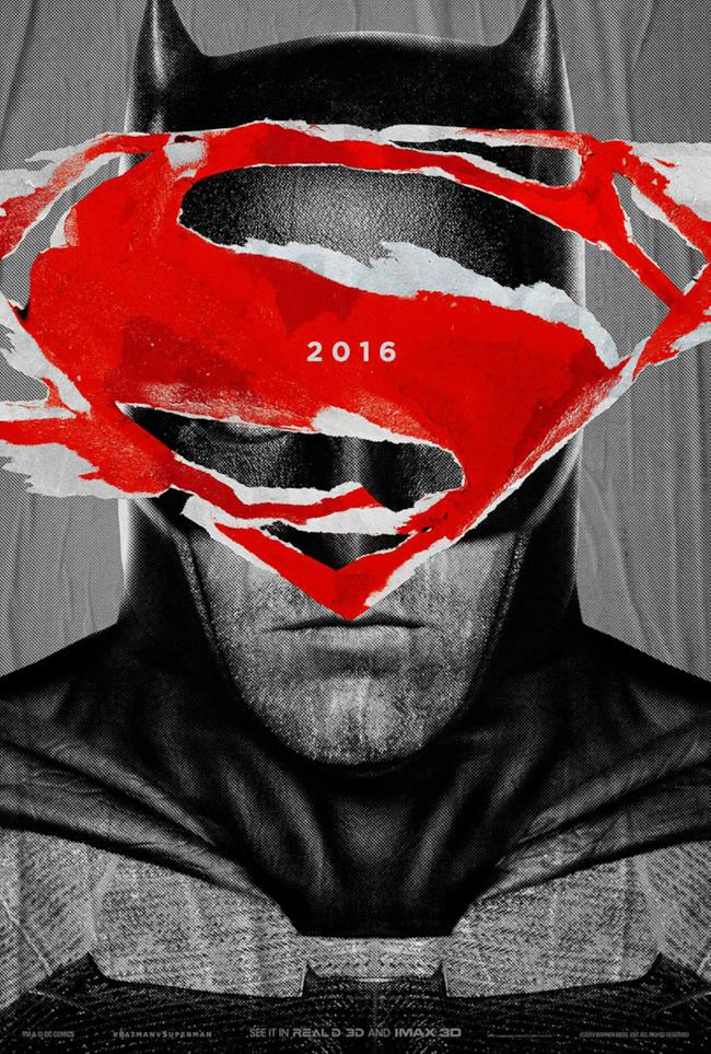 Batman sul poster di Batman v Superman: Dawn of Justice