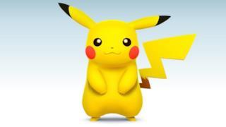 Il mitico Pikachu si mostra in un'immagine dal gioco dei Pokémon
