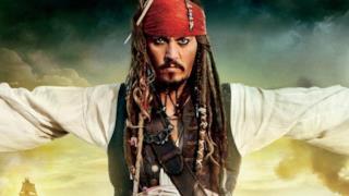 Il capitano Jack Sparrow in Pirati dei Caraibi 5