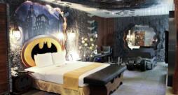 La Batman Suite dell'Eden Hotel a Taiwan