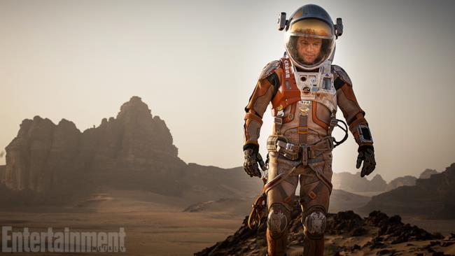 foto dal set di The Martian di Ridley Scott