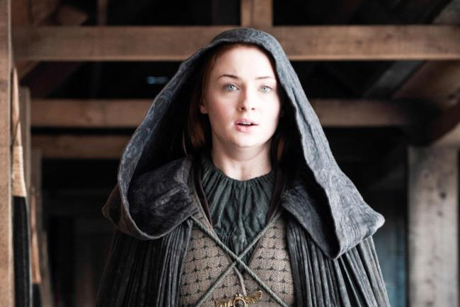 Sansa Stark nella stagione 5 di Game of Thrones