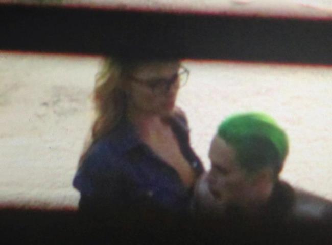 Joker e Harley Quinn in una scena di Suicide Squad