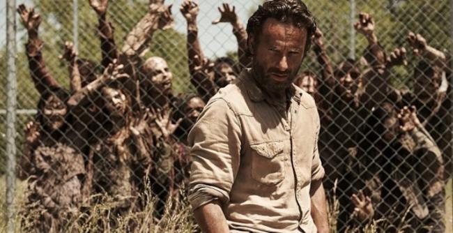 Rick di The Walking Dead