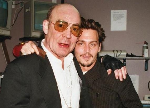 Johnny Depp insieme ad Hunter S. Thompson