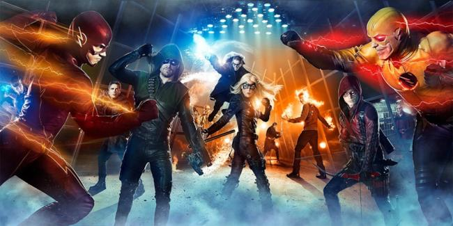 La serie Legends of Tomorrow sarà uno spin-off di Arrow e The Flash
