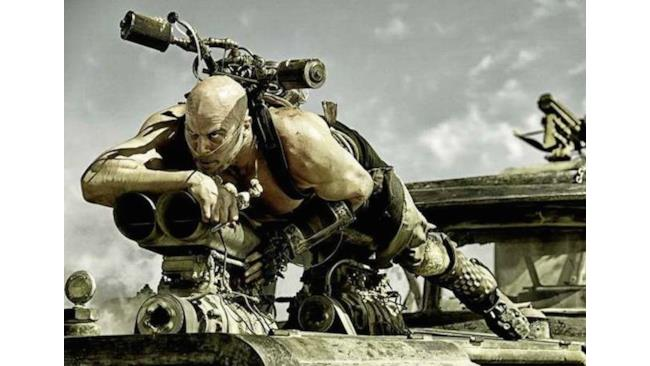 Pazzo sanguinario in Mad Max: Fury Road