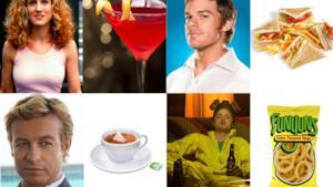 I protagonisti delle serie televisive e film con il loro cibo preferito