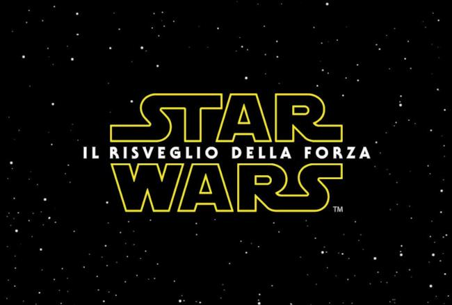 Star Wars Episodio 7, il logo