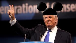 Trump si insedia a Disney World!