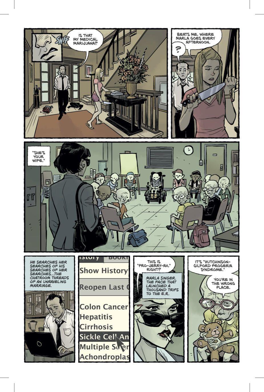 Quarta pagina del fumetto Fight Club 2