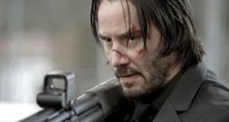 Keanu Reeves nel ruolo di John Wick
