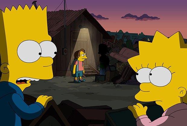 Bart e Lisa nella stagione 27 dei Simpson