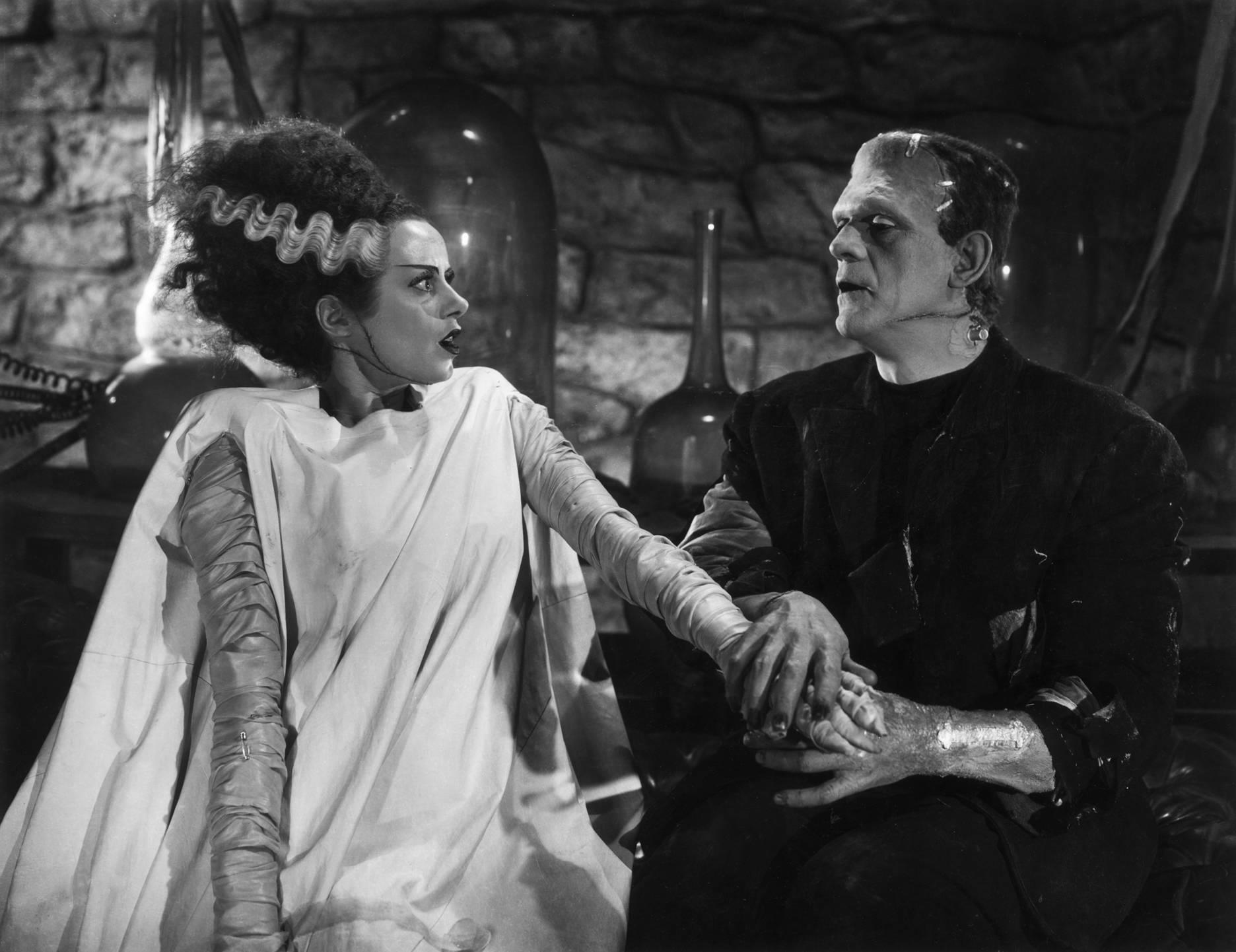 Il cult La moglie di Frankenstein con Elsa Lanchester avrà un remake con Angelina Jolie