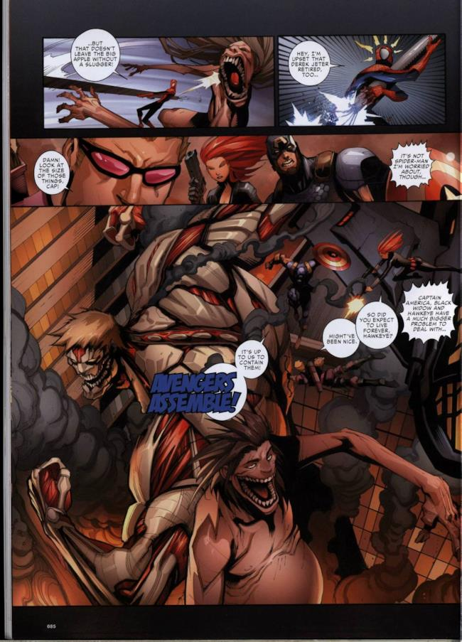 Attack on Avengers, pagina 3