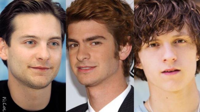 Tobey Maguire, Andrew Garfield e Tom Holland: gli Spider-Man del cinema