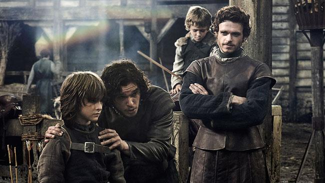 I fratelli Stark in Game of Thrones