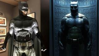 Il costume di Batman in Batman v Superman