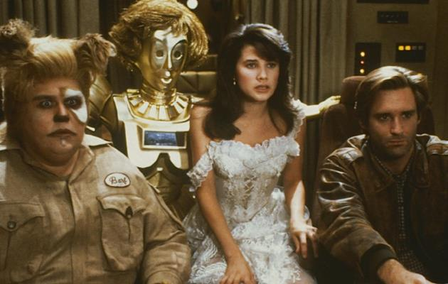 Il cast di Spaceballs