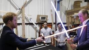 I principi William e Harry sul set di Star Wars-Episodio VIII