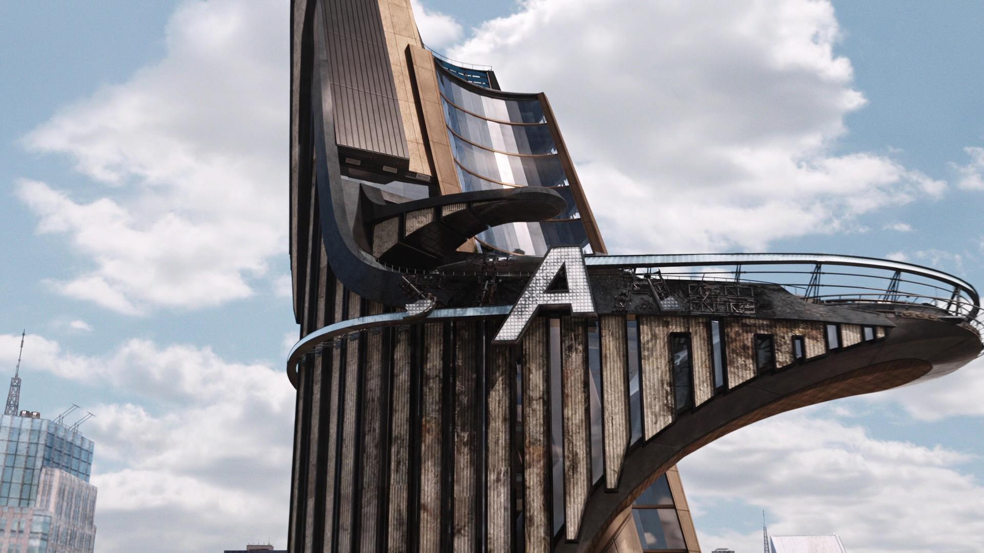 Stark Tower distrutta alla fine di The avengers