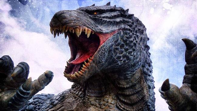 Godzilla in uno dei numerosi adattamenti