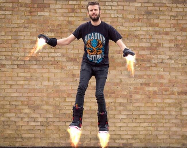 Gli Hoverboots di Iron Man in vendita per Aprile
