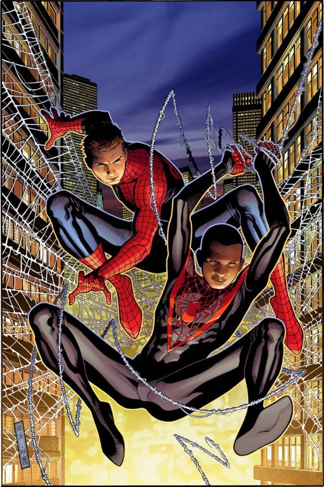 Peter Parker e Miles Morales potrebbero dividersi il ruolo di Spider-Man anche sul grande schermo