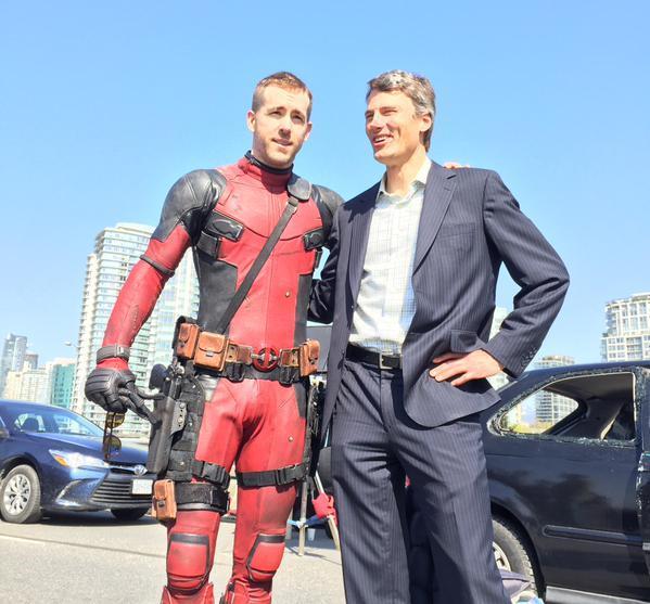 Il sindaco di Vancouver e Deadpool