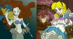 Le Principesse Disney in versione horror sono un vero incubo!