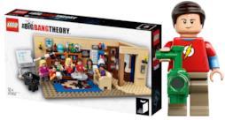 Sheldon e altri 6 personaggi fanno parte del set LEGO ufficiale di The Big Bang Theory