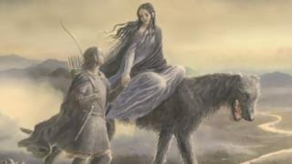 Beren e Lúthien, protagonisti del racconto