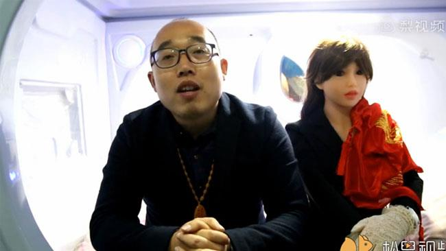 Zheng e la sua moglie robot